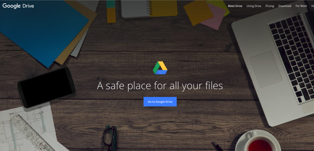Access your files anywhere. Create and manage docs, spreadsheets, presentations, and more.